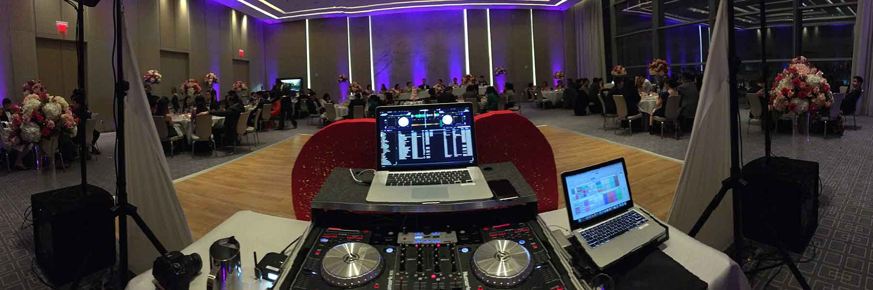 Four-Seasons-Wedding-DJ-Set-up