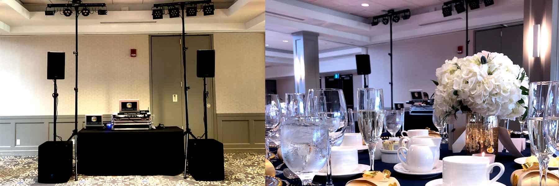 Bayview-Golf-ThornHill-Wedding-DJ-Set-up-&-Decor