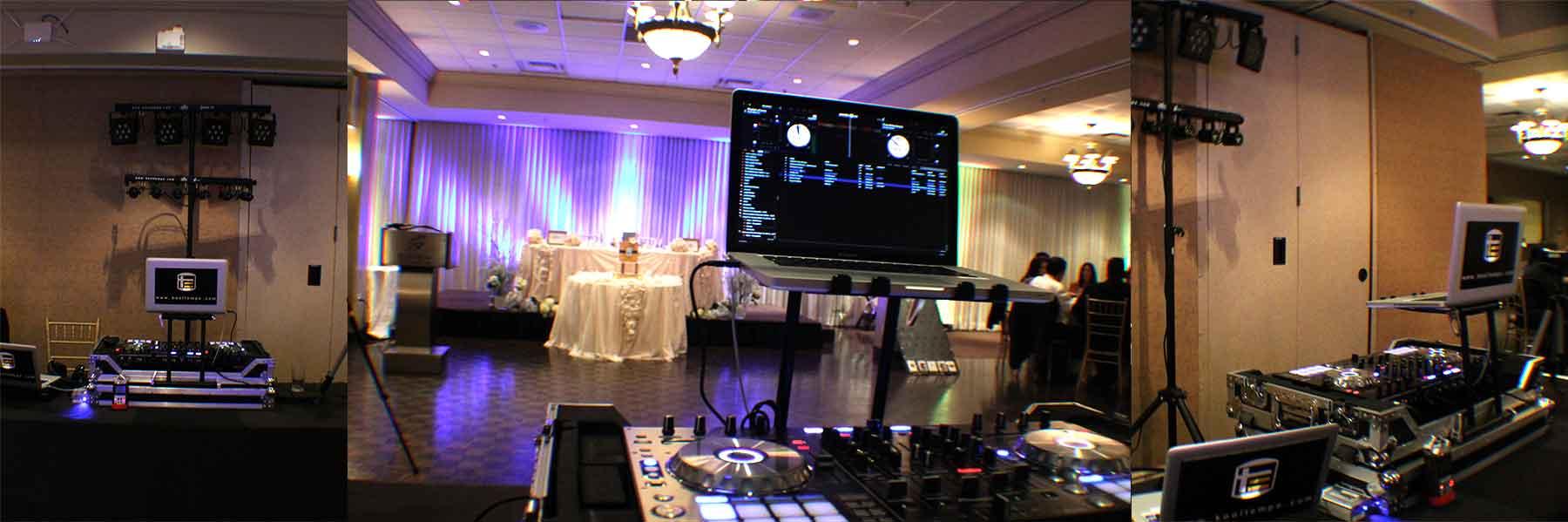 Wedding-DJ-Set-up-&-Uplighting-at-Bayview-Golf-&-Country-Club-Toronto