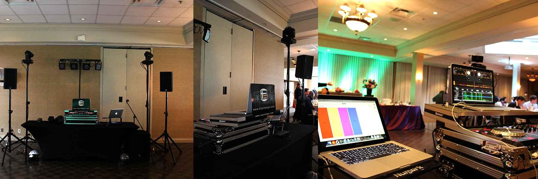 Wedding-DJ-Toronto-Set-up-at-Bayview-Golf-&-Country-Club